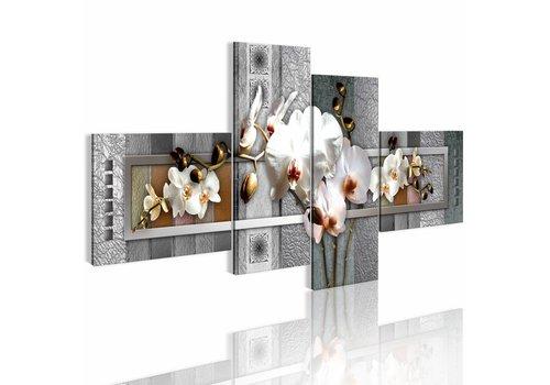 Schilderij - Pearl calla