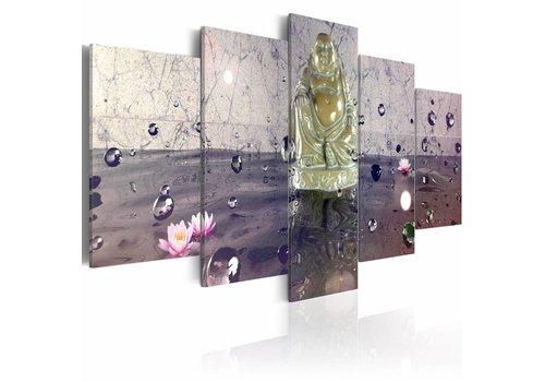 Schilderij - filosofie  zen