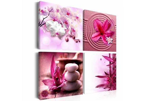 Schilderij - Zen collage