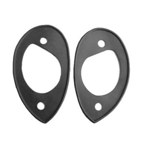 Rubber pads headlights Support