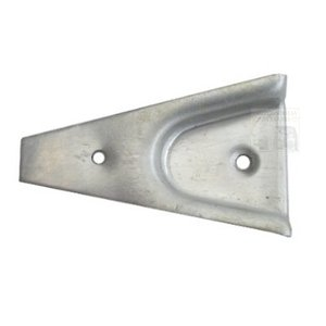 Counterpart door lock wedge aluminum