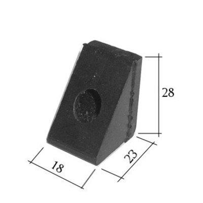 Gummipuffer (Keil) Motorhaube
