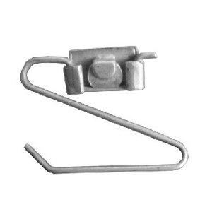 Retaining screw Radlaufchrom