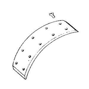 Bremsbelag 65mm (Satz)