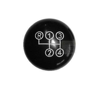 Schaltknopf schwarz