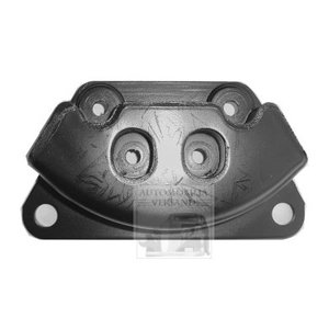 Rubber mount engine mount