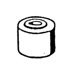 Rubber buffer torsiestang W108-W113