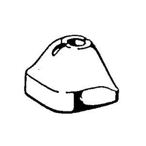 fixations en caoutchouc de l'essieu arrière