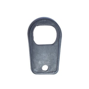 Rubber trunk lid lock