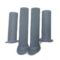 Storm staaf rubber grijze set