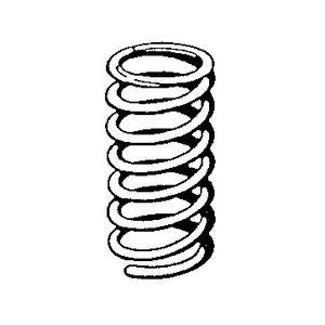 Front spring 180, 190