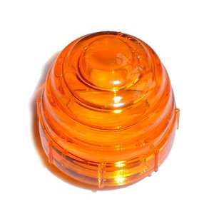 Indicator oranje glazen