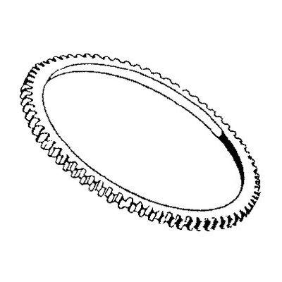 anneau de démarrage dents d'engrenage 108