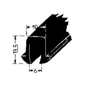Gummiprofil Scheibe Vorn 170v Automobilia Versand