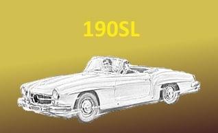 Automobilia-Versand, Ersatzteile für Mercedes PKW, die älter als 40 Jahre sind. banner 3