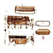 Cilinderdeksel linker M180