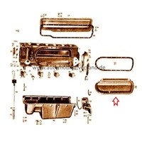 Couvercle de cylindre gauche M180