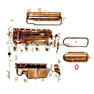 Cylinder cover left M180