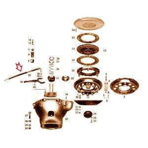 tuyau de graissage centralisé 4x300 mm