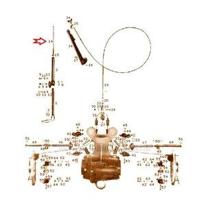 Câble frein avant 170Sb, 220