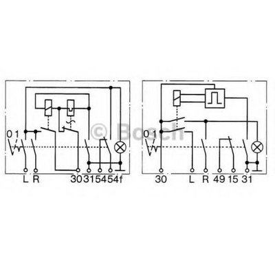 Bosch Waarschuwing knipperlicht 6 Volt