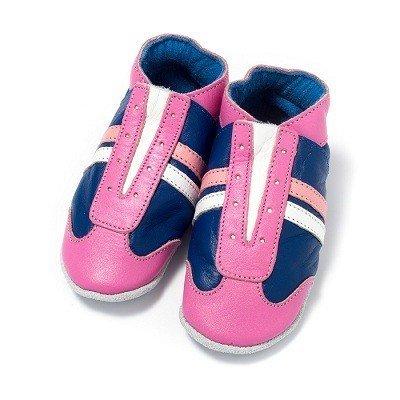 Baby Dutch babyslofjes jogger blauw roze