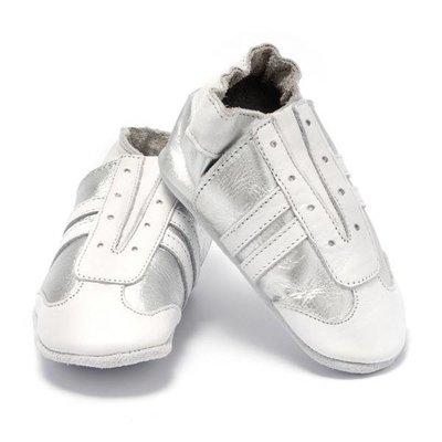 Baby Dutch babyslofjes jogger zilver