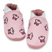Baby Dutch babyslofje roze vlinder