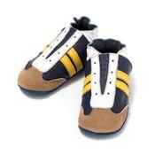 Baby Dutch babyslofjes jogger blauw geel
