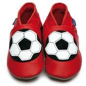 Inch Blue babyslofjes football red