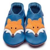 Inch Blue babyslofjes mr fox blue
