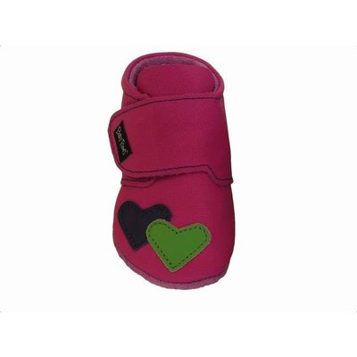 Baby Paws babyslofjes Heather fuchsia