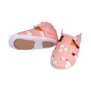 I-Wawa babyslofjes met zooltje sandaaltje roze