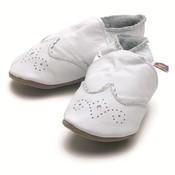 Starchild babyslofjes baby brogue white