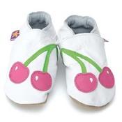 Starchild babyslofjes cherry baby white pink