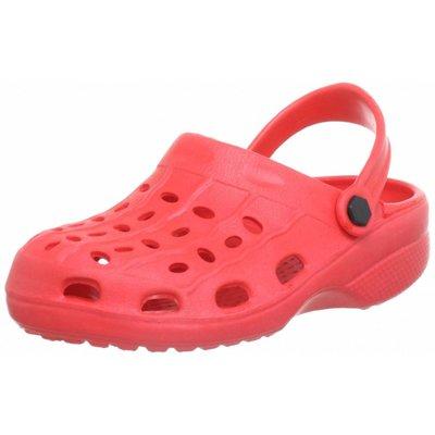 Playshoes EVA sandaaltjes rood