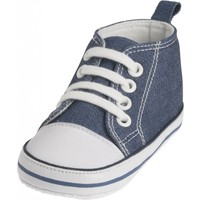 Playshoes sneaker jeans blauw
