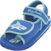 Playshoes watersandaaltjes blauw haai