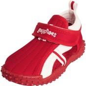 Playshoes waterschoenen dicht rood