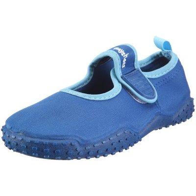 Playshoes waterschoenen open blauw