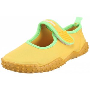 Playshoes waterschoenen open geel