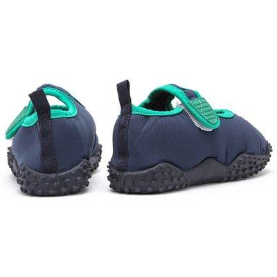 Playshoes waterschoenen piraat blauw groen