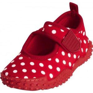 Playshoes waterschoenen stippen rood