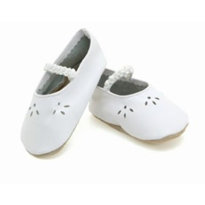 Starchild babyslofjes lacey white