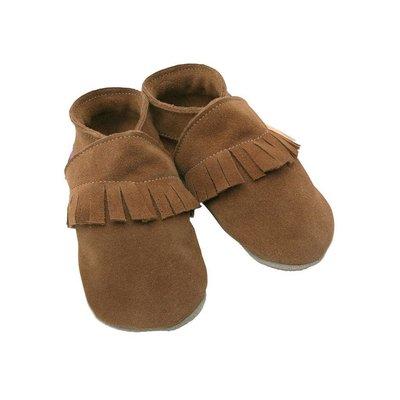 Starchild babyslofjes Ciao moccasin bruin