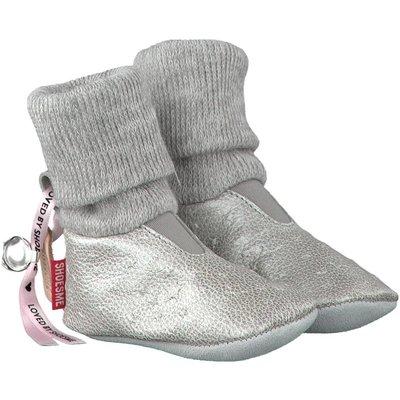 Shoesme babyslofjes Babyproof Soft zilver