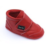 Baby Paws babyslofjes Rap Ova rood