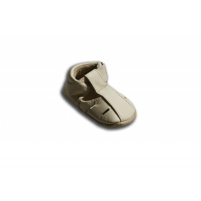 Baby Paws babyslofjes Sandal crème