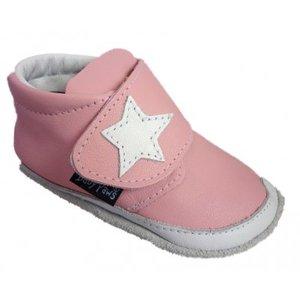 Baby Paws babyslofjes Jak Rap Star roze