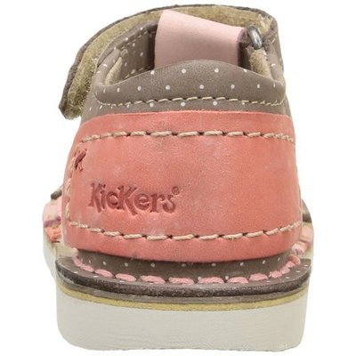 Kickers schoentjes Woopy Marron Rose